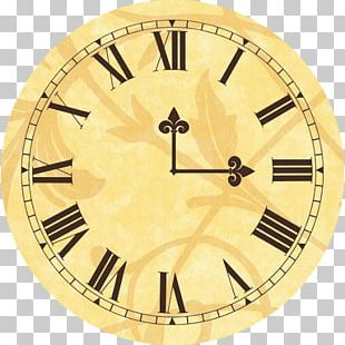 Clock Face Antique Mantel Clock Dial PNG