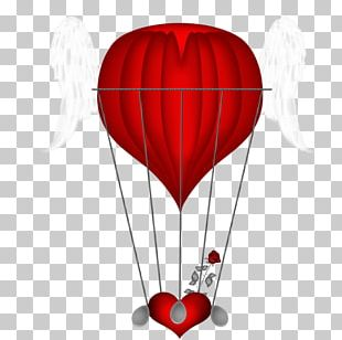 Hot Air Balloon Illustration PNG