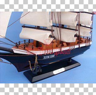 08854 Baltimore Clipper Scow Schooner Caravel PNG