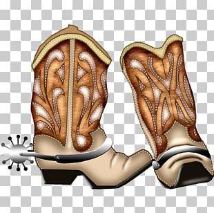 Cowboy Boot Footwear PNG
