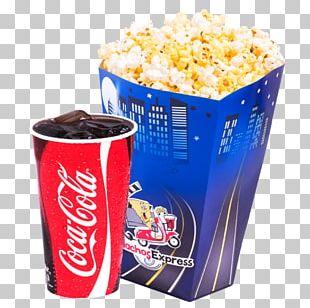 Fizzy Drinks Coca-Cola Popcorn Fanta PNG