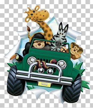 Safari Jeep PNG