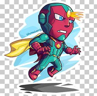 Vision Art Superhero Spider-Man Chibi PNG
