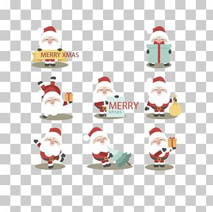 Santa Claus T-shirt Christmas Iron-on PNG