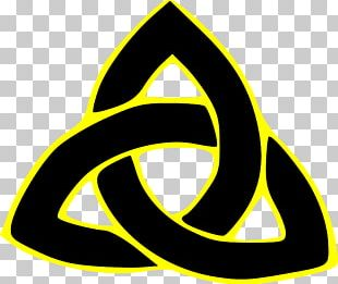 Triquetra Modern Paganism Wicca Symbol Religion PNG