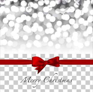 Christmas Decoration Red Ribbon Gift PNG