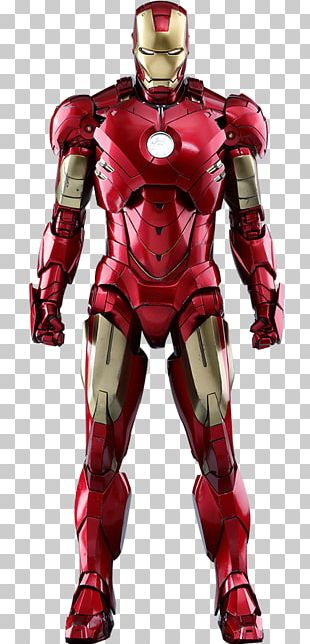 Iron Man's Armor Action & Toy Figures Hot Toys Limited Marvel Comics PNG