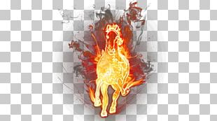 Horse Flame Fire PNG