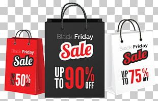 Black Friday Sales Bag PNG