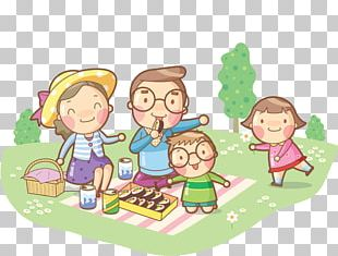 Family Poster Illustration PNG