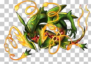 Rayquaza Fan Art PNG