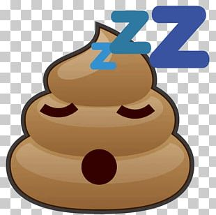 Sticker Telegram Pile Of Poo Emoji Feces PNG