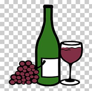 Glass Bottle Red Wine Wine Glass PNG