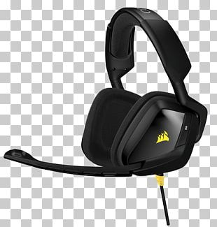 Headset Microphone Corsair VOID PRO RGB Corsair Components Stereophonic Sound PNG