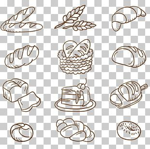 Bakery Baguette Bread Drawing PNG