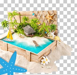 Summer Vacation Illustration PNG
