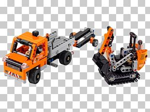 LEGO Technic Roadwork Crew Toy LEGO Technic 42060 PNG