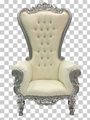 Chair Throne Couch Furniture Chaise Longue PNG