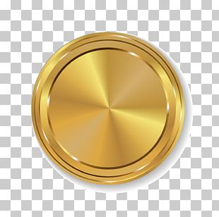 Golden Circle Gold PNG