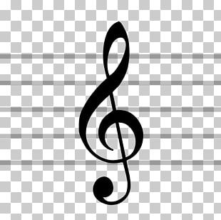 Clef Treble Staff Musical Note Musical Notation PNG