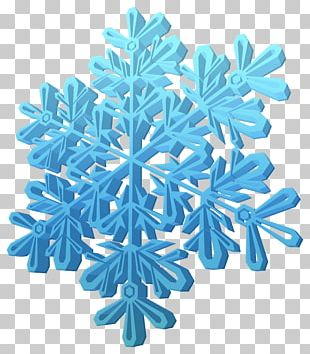 Snowflake Three-dimensional Space 3D Computer Graphics PNG