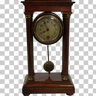 Table Mantel Clock Antique Furniture PNG