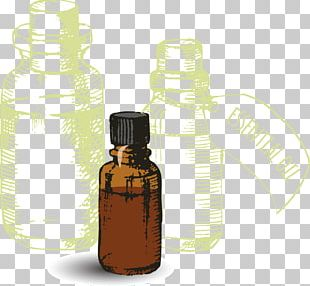 Bottle Essential Oil Aroma Compound Volatility PNG