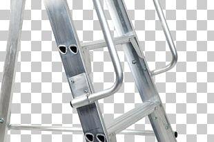 Ladder Aluminium Warehouse Guard Rail Handrail PNG