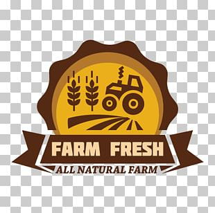 Organic Food Farm Logo Agriculture PNG