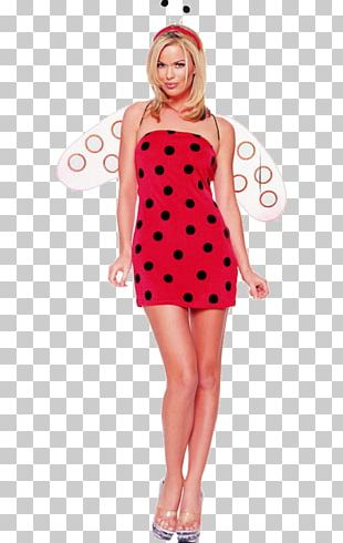 Polka Dot Halloween Costume Dress Clothing PNG