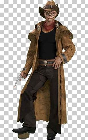 Cowboy Halloween Costume Zombie Clothing PNG
