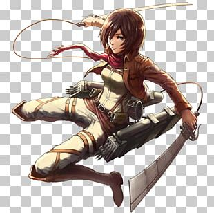 Eren Yeager Mikasa Ackerman Levi Armin Arlert Attack On Titan PNG
