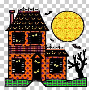 Haunted House Drawing Ghost Coloring Book PNG