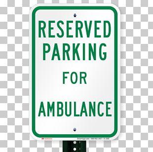 SmartSign Aluminum Sign Logo Parking Traffic Sign Signage PNG