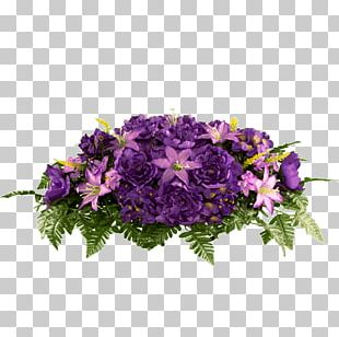 Easter Lily Cut Flowers Purple Lavender PNG