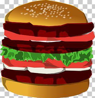 Hamburger Hot Dog Cheeseburger Fast Food Chicken Sandwich PNG