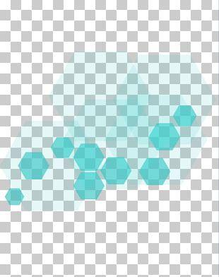 Digital Data Hexagon Icon PNG