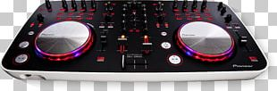 DJ Controller Virtual DJ Pioneer DJ Disc Jockey Audio Mixers PNG