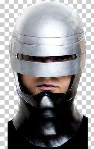 RoboCop Motorcycle Helmets Mask Halloween Costume PNG