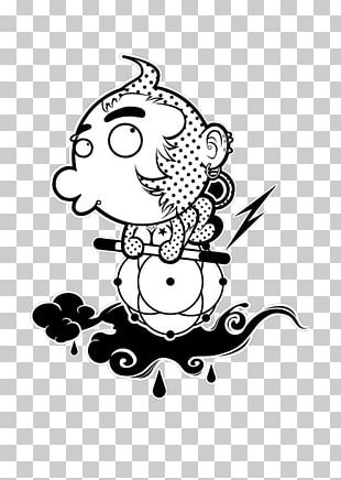 Monkey Black And White PNG