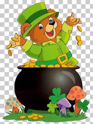 Saint Patrick's Day Shamrock Leprechaun Irish People PNG
