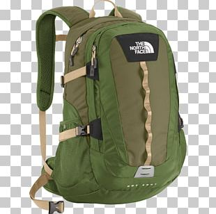 The Northface Green Backpack PNG