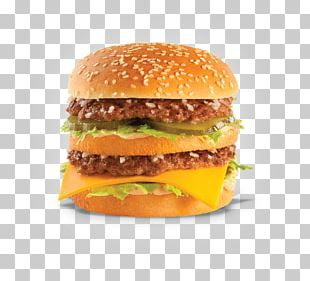 Cheeseburger Hamburger McDonald's Big Mac Buffalo Burger Slider PNG