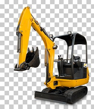 Compact Excavator Architectural Engineering Heavy Machinery Bulldozer PNG
