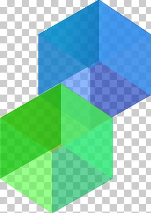 Cube Shape Three-dimensional Space PNG