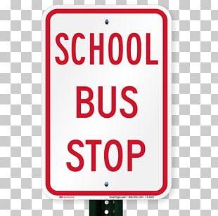 Bus Car Park Traffic Sign Stop Sign Parking PNG