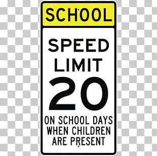 Speed Limit Traffic Sign Manual On Uniform Traffic Control Devices School Zone PNG