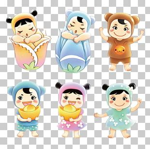 Child Cartoon Poster Illustration PNG