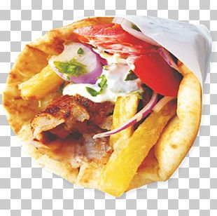 Gyro Pita Souvlaki Greek Cuisine Tzatziki PNG