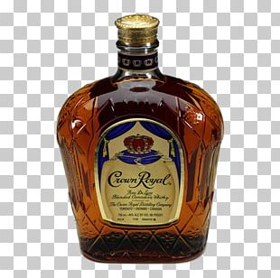 Liqueur Glass Bottle Crown Royal Whiskey PNG